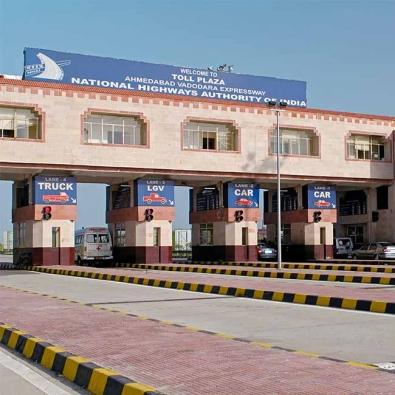 Gujarat border toll plaza