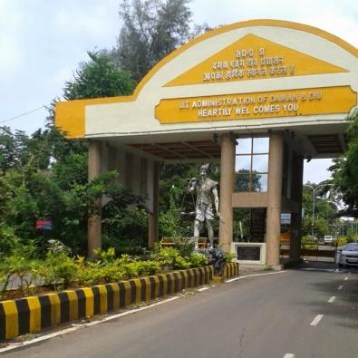 Daman Archway
